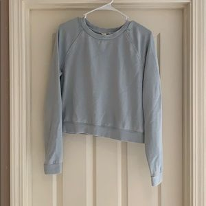 Forever 21 Cropped Crewneck Sweatshirt